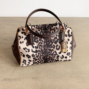 Coach | Madison Ocelot Animal Print Mini Satchel
